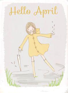 Hello April Showers....