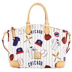 Chicago Cubs Dooney & Bourke Women's Satchel Ð White