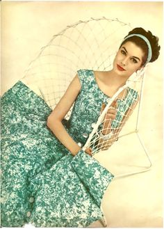 Charm Magazine <3 1954   More fashion lusciousness here: http://mylusciouslife.com/photo-galleries/historical-style-fashion-film-architecture/