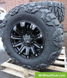 Love these Rockstar wheels Jeep Wheels, Off Road Wheels, Motorcycle Wheels, Truck Wheels, Jeep Mods, Truck Mods, Truck Rims And Tires, Cooper Tires, Chevy Girl