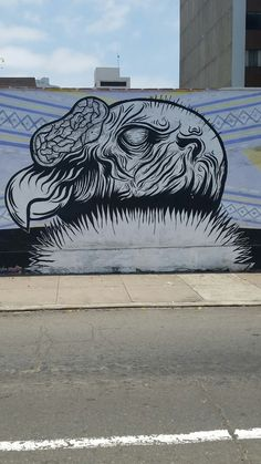 Andean Condor - Street Art & Graffiti - Miraflores District, Lima, Peru - -  Stowe Original Photography