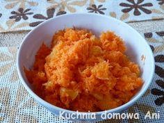 Kuchnia domowa Ani: Surówka z marchewki i pomarańczy