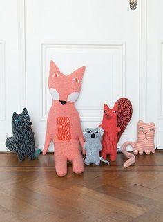 Fox and crew - Donna Wilson