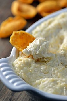 Crab Dip Recipe from addapinch.com