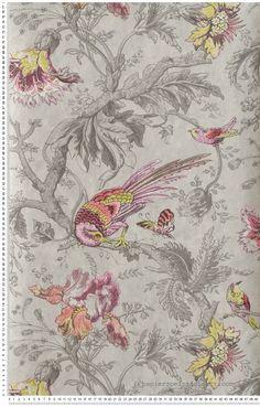 Papier peint classique anglais roses fleurs papier peint for Site deco anglais