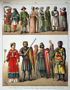 Middle Ages, French Fashion