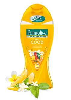 Frangipani, Neroli Essential Oil & Mango Shower Gel from Palmolive