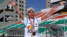 Adela Carrasco Avendano is Bolivia's most famous elderly athlete. | Foto: teleSUR