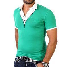 Redbridge Herren T-Shirt R-1543 Grün Größe XL