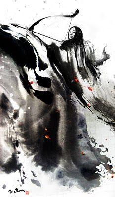 Illustration by Rola Chang aka Jung Shan Ink