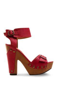 f529c30c629 Wood platform sandals Shoes Heels Boots