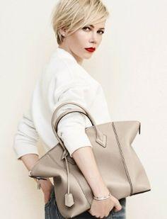 Nude Luis Vuitton bag