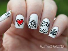 Paulina's Passions Simon's Cat #nail #nails #nailart