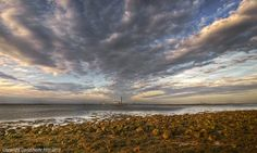 Fan Clouds - Medway Estuary   This stunning and rather moody…   Flickr - Photo Sharing!
