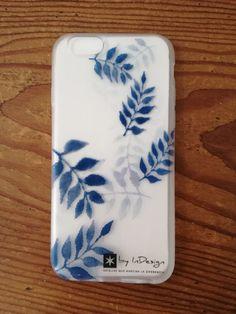 Funda de móvil de hojas. #phonecase #watercolor #wedding #weddingstationery #boda #papeleríadeboda