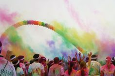 """I want to run """"the color run"""""""