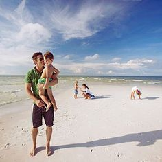Coquina Beach Park in Bradenton, Florida was named on the Top TenBest Beaches for Families list!- loved going there every weekend as a kid/teenager Old Florida, Florida Vacation, Florida Travel, Bradenton Florida, Florida Beaches, Vacation Destinations, Vacation Spots, Vacation Ideas, Best Family Beaches