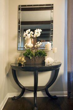HALF MOON TABLE SETTING | tables | Pinterest | Decor, Half moon ...
