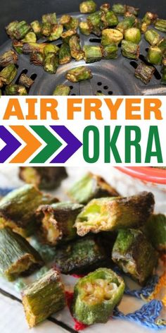 This air fryer okra is quick to make with fresh or frozen okra. It is unbreaded so it is healthy and low-carb friendly. This is a great, crispy side dish. #okra #airfryer #vegetables #sidedishes #ww #airfryerrecipe via @sweeterbydesign Frozen Okra Recipes, Healthy Okra Recipes, Air Fryer Recipes Okra, Air Fryer Recipes Low Carb, Air Fryer Dinner Recipes, Air Fry Recipes, Side Dish Recipes, Low Carb Recipes, Cooking Recipes