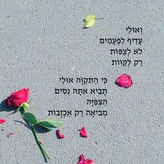 Hebrew Quotes, Hebrew Words, Life Lesson Quotes, Life Lessons, Life Quotes, Cool Words, Wise Words, Inspiring Quotes About Life, Inspirational Quotes