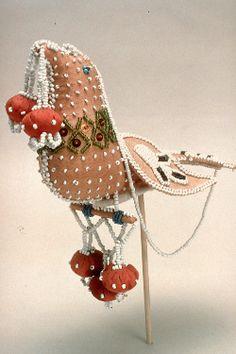 Mohawk Bird Figure