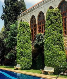 Zouk Mikael Islamic Decor, Beirut Lebanon, Classic Architecture, Stone Houses, Old Buildings, Traditional House, Old Houses, Home Deco, Building Designs
