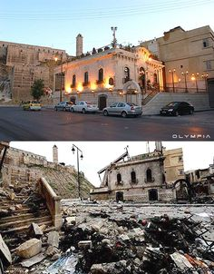 Aleppo Before And After, Syrian Civil War, Lost Soul, Photo Series, Ancient Egypt, World Heritage Sites, Photo Galleries, Castle, City