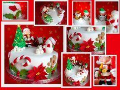 Christmas cake fondant