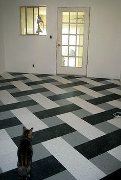 """12"""" basket weave in VCT. More"""