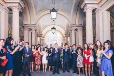 Classic and Fashionable Wedding in Milan