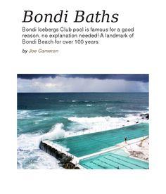 Bondi Baths Bondi Beach Australia, Australia Travel, All I Ever Wanted, Bath Time, The Great Outdoors, Baths, New Zealand, Surfing, To Go