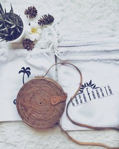 """29 Likes, 1 Comments - 🌴 Casa Frasta 🌴 (@casafrasta) on Instagram: """"Orders ready to go 🌍✈💫 round rattan bag is best seller 😍 get yours now before it's out of stock. 💯%…"""""""