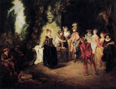 TICMUSart: The French Comedy - Jean-Antoine Watteau (1716) (I.M.)