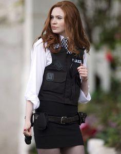 Amy Pond police girl