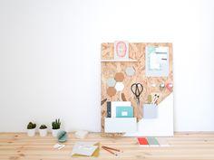DIY: organizador de escritorio