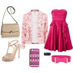 """Spring Floral"" by anita-platz on Polyvore"