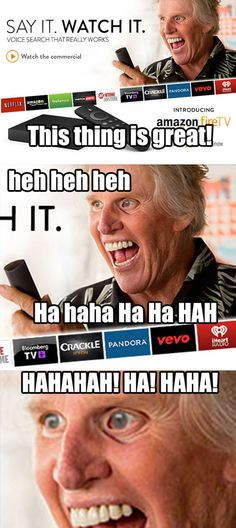 HAHAHA that was my reaction when I went on Amazon and saw his face! XD