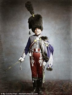 Extraordinary remastered photographs of Napoleon's troops