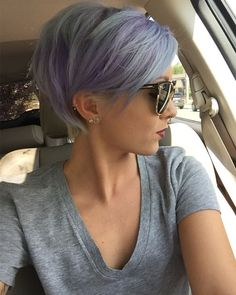 Intricate Multicolored Blonde Short Hairstyles 2016 for Women
