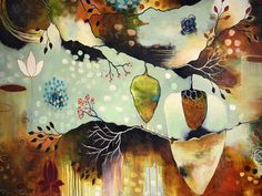 Giclee Print on Stretched Canvas – 'Cocoon' $265 #florabowley #artprint