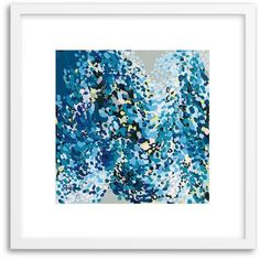 West Elm Minted for west elm - Dance In Blue