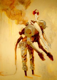 Ashley Wood https://www.facebook.com/CharacterDesignReferences