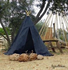 Denim teepee Teepees – Teepeelicious Teepees, Outdoor Gear, Tent, Handmade, Store, Hand Made, Tents, Tipi, Handarbeit