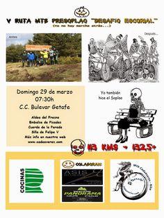 "Mtb Cadaáveres - Bike : V Ruta Mtb Presoplao ""Desafío Escorial"""