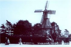 An Old Photo of Wimbledon Common Windmill South West London England South London, Old London, West London, Wimbledon Common, Fair Lady, London Photos, Surrey, Windmill, Sheds