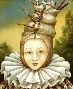 Agnès Boulloche ~ Fantastic Surrealist painter | Tutt'Art@ | Pittura * Scultura * Poesia * Musica |