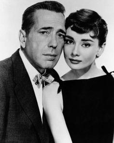 Bogart and Audrey in Sabrina