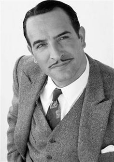 """Jean Dujardin (June 19, 1972- ), as George Valentin in """" The Artist"""", 2011. age 39. #actor"""