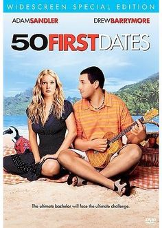50 First Dates (2004) with Drew Barrymore and Adam Sandler. Short-term memory loss complicates a relationship. Bring your handkerchiefs.