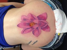 Tattoo number 5. #Lotus the unbreakable flower :)